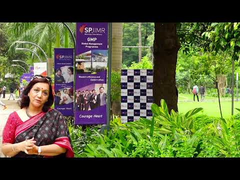 Dr Vidyut Lata Dhir - About SPJIMR's GMP