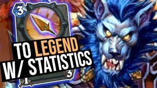 I Hit Legend w/ the Power of Statistics! | Saviors of Uldum | Hearthstone