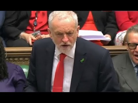 Jeremy Corbyn vs Theresa May at PMQs - 16 May 2018