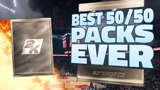NBA 2K15 My Team Pack Opening - BEST 50/50 LEGEND PACKS EVER! Pull of the YEAR! Xbox One