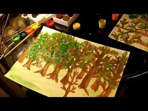 Рисуем с Детьми на тему Берегите Природу