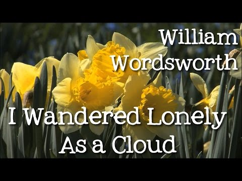 Thumbnail: I Wandered Lonely As a Cloud by William Wordsworth: Daffodils - Poems for Kids, FreeSchool
