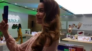 Ca sĩ Hồ Ngọc Hà và những người mẫu Oppo Việt Nam