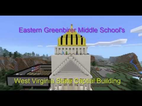 Eastern Greenbrier Middle School's West Virginia State Capital Building Submission