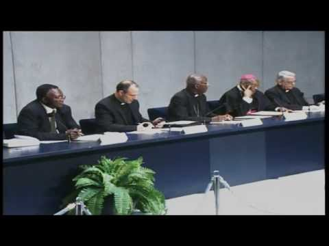 PRESS CONFERENCE - The Churc in Africa from the 2nd Vatican Council to the 3rd Millennium