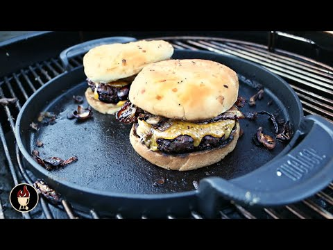 Weber Griddle Burgers | Burgers On The Weber Gourmet BBQ System Griddle