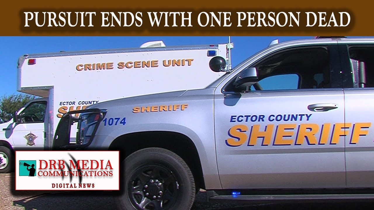 DRB MEDIA COMMUNICATIONS DIGITAL NEWS(120119)-PURSUIT ENDS WITH ONE PERSON DECEASED