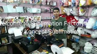 Download Sublimation Printing on Pure Cotton Fabric T Shirts