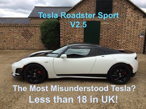 Tesla Roadster, nothing like a Lotus.  Unique features
