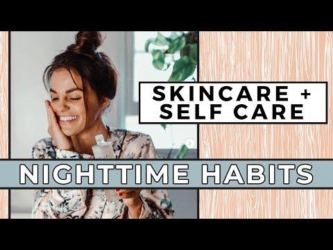5 SELF CARE + SKINCARE Nighttime Habits & Routine | Self Love Sunday thumbnail
