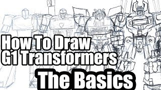 How to draw Transformers - The Basics
