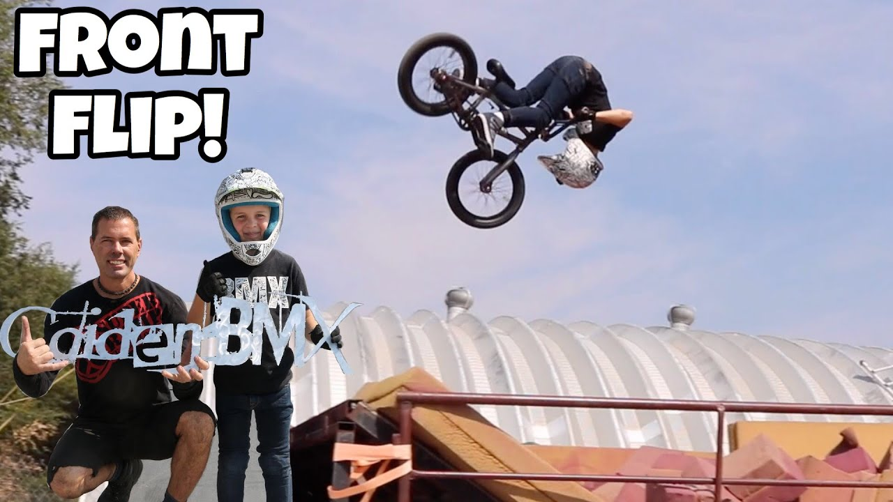 New BMX Tricks! Front Flips and MORE!