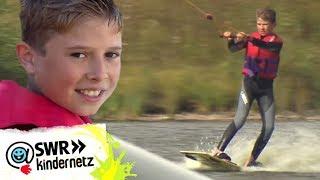 Wakeboarden mit dem Weltmeister - Reporter Felix beim Workshop | Tigerenten Club | SWR Kindernetz