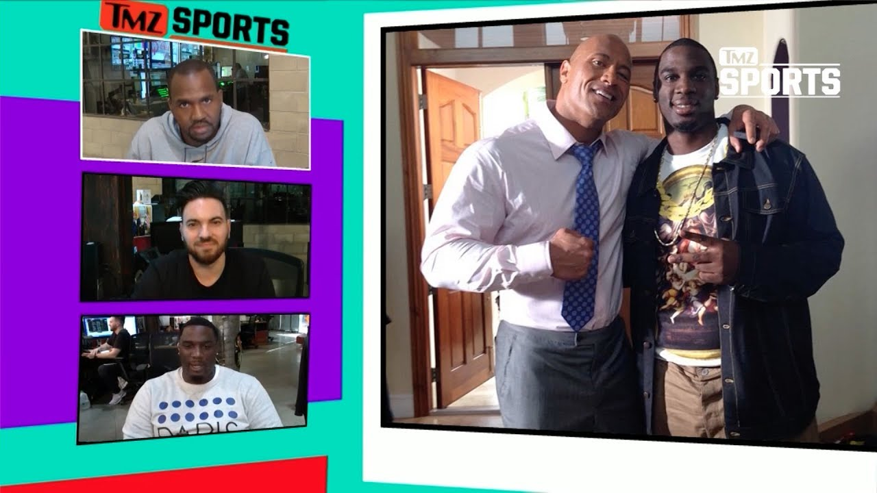 donovan-carter-says-he-ll-vote-for-the-rock-for-president-tmz-sports