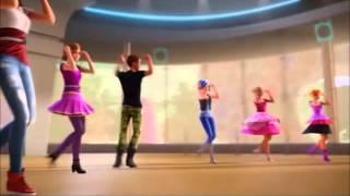 3. Campo Rock. Treino de dança - Rock N'Royals