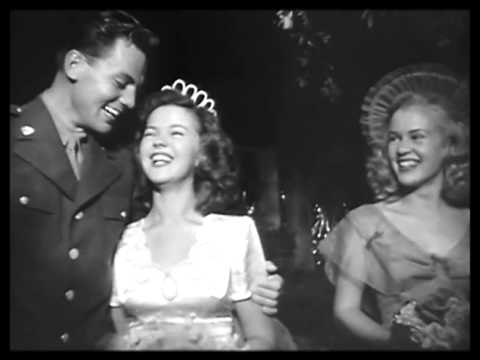 Shirley Temple and John Agar are wed 1945