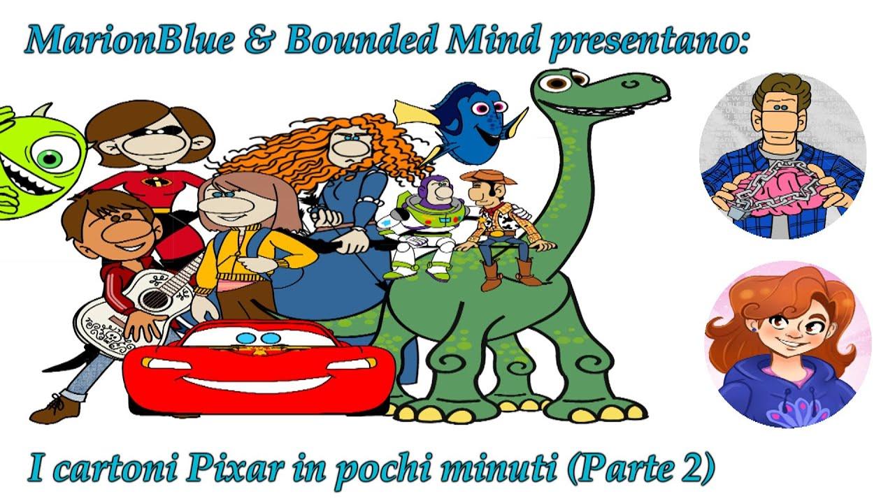 10 FILM della PIXAR in poche parole ft @Bounded Mind  (Parte 2)