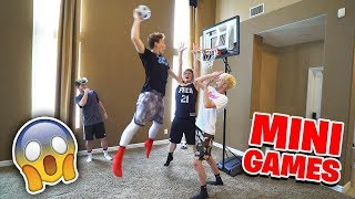 2HYPE House Basketball Mini Hoop Mini Games!