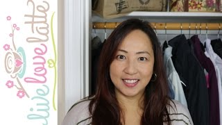 Small ReOrganization Project: Our Entryway Coat Closet for 2 Functions how to organize