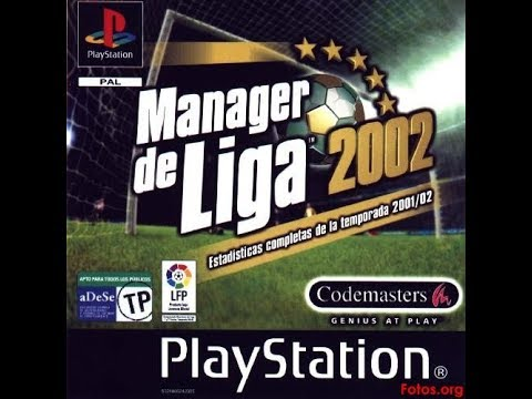 27.Manager de Liga 2002(At.de Madrid).Derbi Madrileño!!!