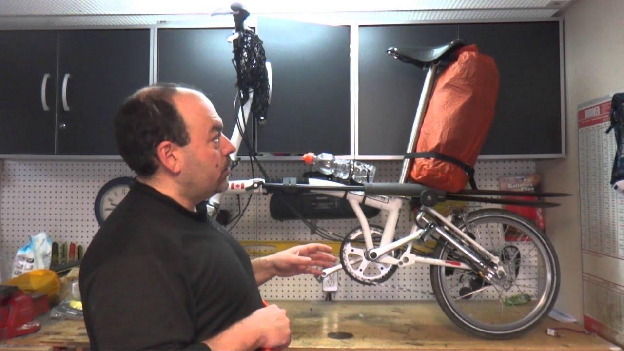 porte-bagages pour Brompton convertit votre sac en bagage Brompton Trigo Cadre de sac