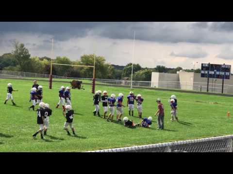 Angola Middle School 6th Grade Football vs West Noble 10 01 2016