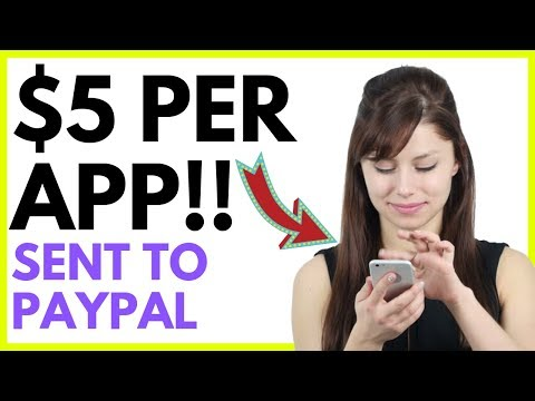 Get Paid Via PayPal To Download Apps ($5 PER APP!)