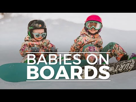 baby snowboard t shirt