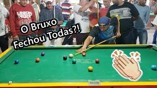 Desafiaram o melhor jogador de sinuca do Brasil e olha no que deu...