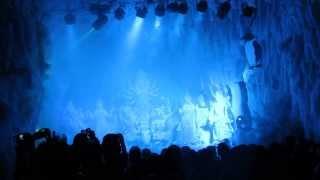 Shatish Babu lane (Chittagong, Bangladesh) Durga puja 2013 winter storm show - Iceland theme.