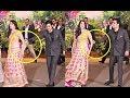 Akash Ambani Pulls Shloka Mehta At Sonam Kapoor Wedding Video