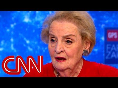 Albright: Trump has undemocratic instincts
