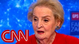Albright: Trump has undemocratic instincts