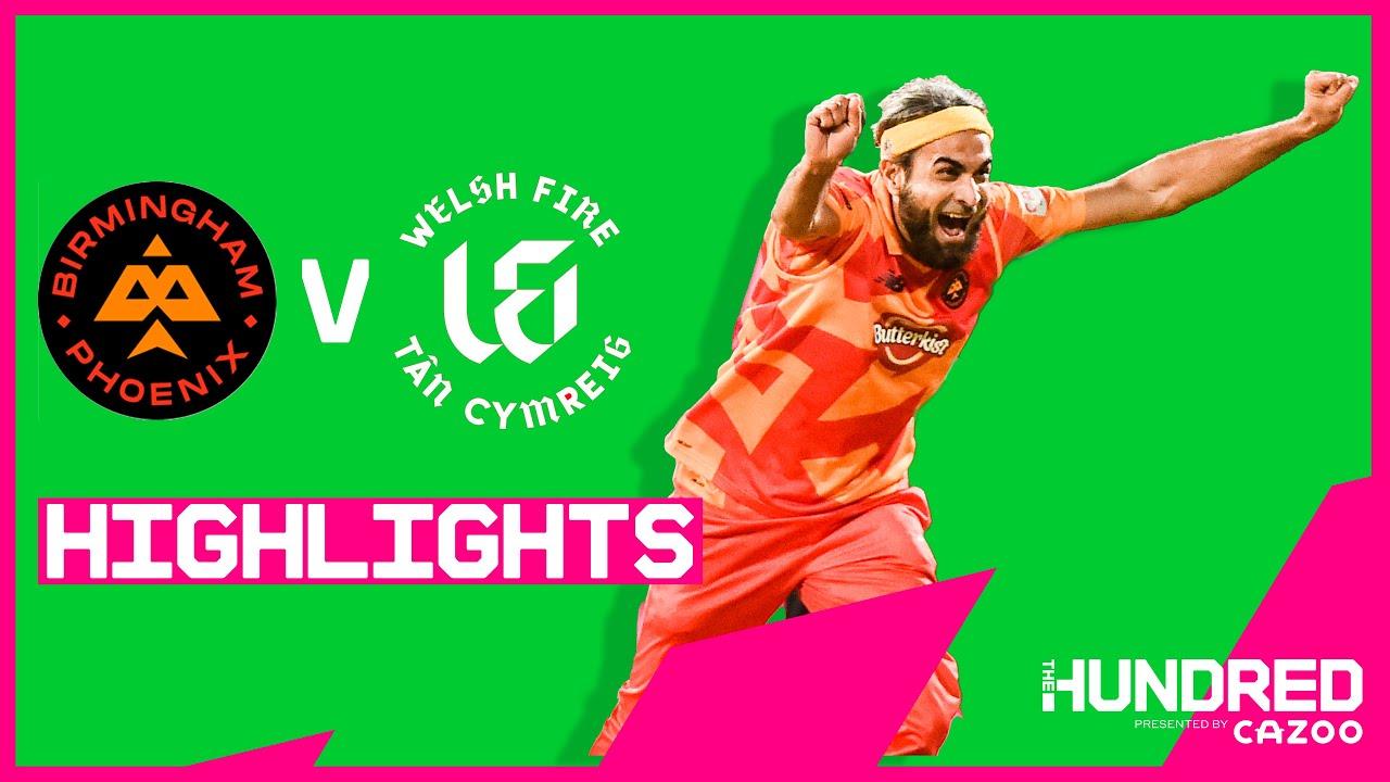 Download Imran Tahir Takes HAT-TRICK! | Birmingham Phoenix vs Welsh Fire - Highlights | The Hundred 2021