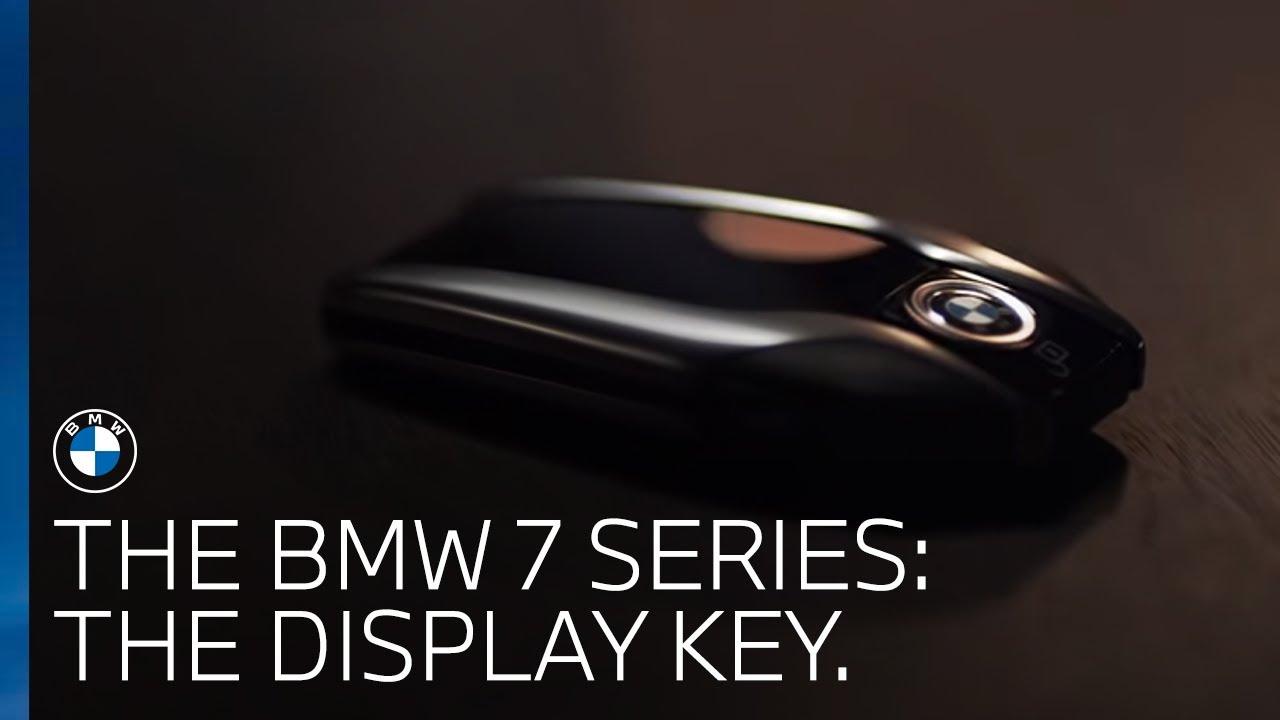 The Bmw 7 Series The Display Key