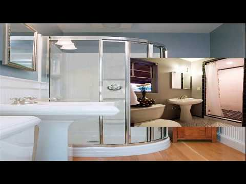 Small Bathroom With Standing Shower