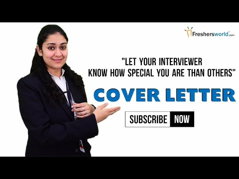 Why You Need Resume Cover Letters