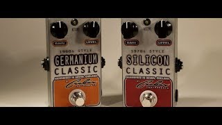 GERMANIUM Vs SILICON TRANSISTORS - The Ultimate Comparison - Handwired Original Designs.