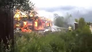 fire suppression Тушение дома за 2500000