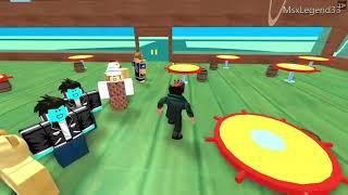 ROBLOX trabalhe em um lugar da pizza um restaurante do Hamburger escondido a água