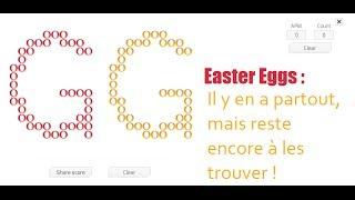 Easter Eggs : Il y en a partout, mais reste encore à les trouver !