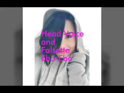 Demi lovato Head Voice/Falsetto/Whistle Register/Exclamations Eb6-G7