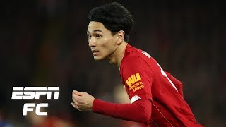 Liverpool's Takumi Minamino - Every touch in his winning debut vs. Everton | FA Cup Highlights