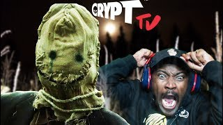 MOVIE NIGHT #19 | HAVE YOU EVER FELT LIKE SOMETHING IS WATCHING YOU?  Crypt TV REACTION
