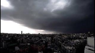 Orage Paris 29 05 18