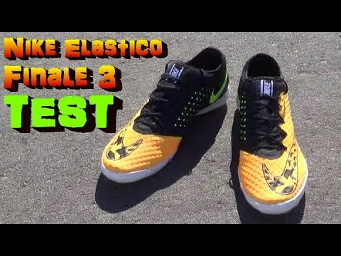 Nike Elastico Finale 3 III Test & Review
