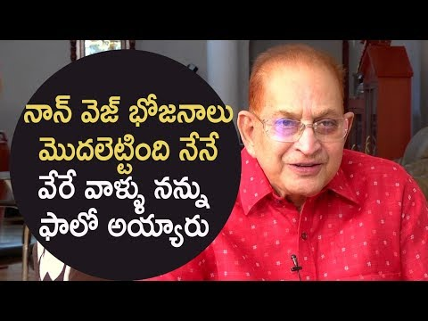 We started serving non-veg food for unit members, others followed us: Superstar Krishna