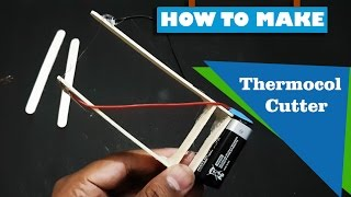 How To Make Thermocol Cutter at home 4K -kasnox