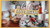 CLEAN AND DECORATE WITH ME🍁 FALL HOME DECOR IDEAS 2019