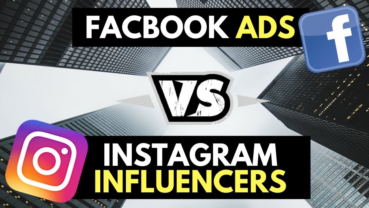 Facebook Ads vs Instagram Influencers! Which Should You Be Using For Your Shopify Ecommerce Store?